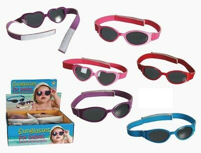 Baby Sunglasses With Closure 100% Eye Protection Age 0-3+ Sun Babies