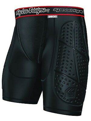 Troy Lee Designs MX Protektorenshorts Shock Doctor LPS3600 Schwarz