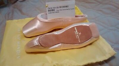 Gaynor Minden Pointe Shoes 7N 3Box ExtraFlex Sleek Fit, Suede Tips ($130 retail)