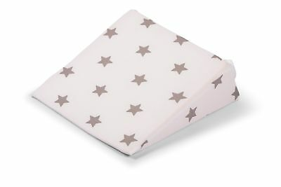 Widgey Wedge Maternity Support Pillow with Removable Cover - Silver Stars
