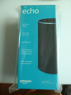Amazon Echo (2. Generation) Sprachgesteuerter Smart Assistant - Anthrazit Stoff