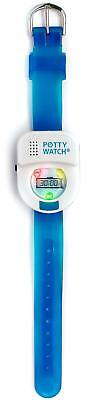 Potty Time Toddler Potty Watch Toilet Training Aid - Blue Colorful LED Lights