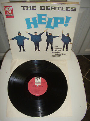 The Beatles - Help  ( Hörzu shze 162     Made in Germany )