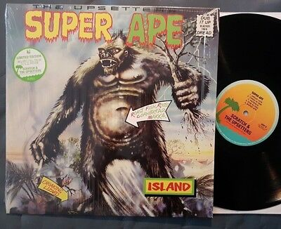 Dub LP Lee SCRATCH Perry & THE UPSETTERS Super Ape ISLAND (USA, 2013) poster!