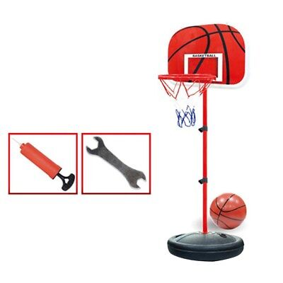 Kinder Basketball SET + Basketballkorb + Basketballständer +Pumpe+ Ball 50-150cm