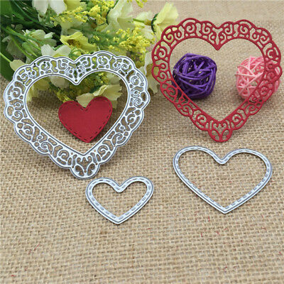 Metal Love Cutting Dies Words Stencils and Stamps for DIY Scrapbooking paper
