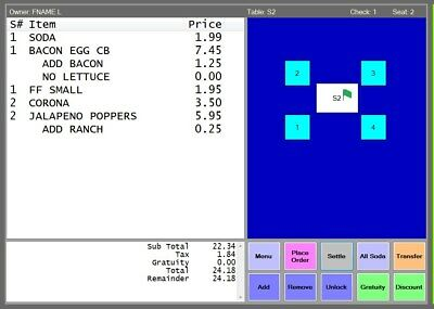 Restaurant Store POS Software : Download Link ONLY, No Recurring Fees