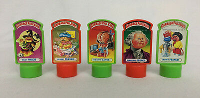 Vintage 1986 Topps Imperial Toys Garbage Pail Kids Pencil Billboards lot of 5