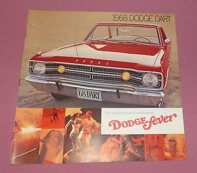 "1968 Dodge ""Dart"" Car Dealer Sales Brochure"