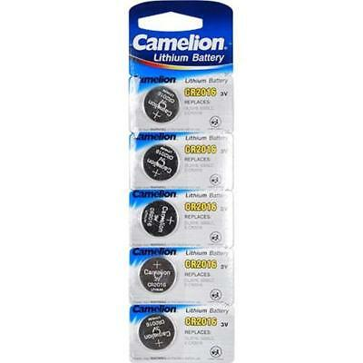 5 Pack Camelion CR2016 3V Battery use with watches flashing toys jewelry
