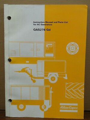 Instruction Manual For Atlas Copco Ga 300