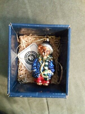 Boyds Bears GlassSmith Collection Christmas Ornament Matthew  Style# 391008