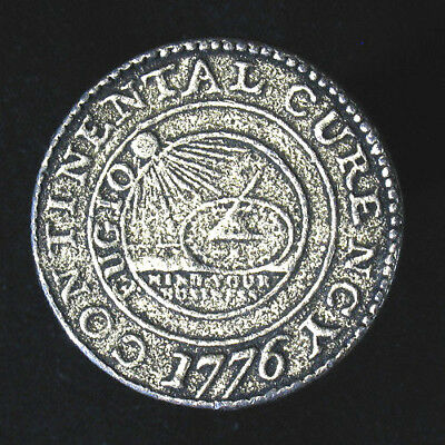 Continental Currency 1776 token/medal 24.8g 38mm (1 1/2 inches)