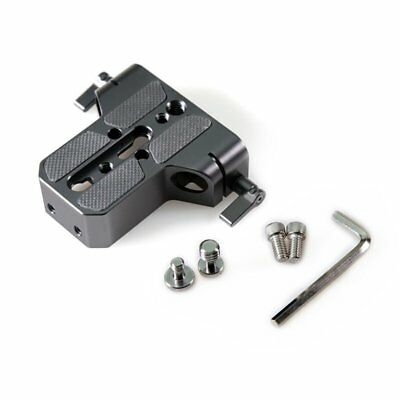 Low Profile 15mm Base Plate for Sony FS7/A7 Canon C100C300C500 E6F3