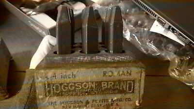 Hoggson Brand Hand Cut Steel Stamps Roman Numbers