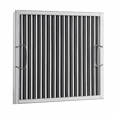 16 x 20 Captrate Solo Stainless Steel Grease Hood Filter