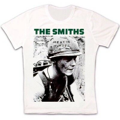 The Smiths Meat Is Murder Punk Rock Morissey Retro Unisex T Shirt 492