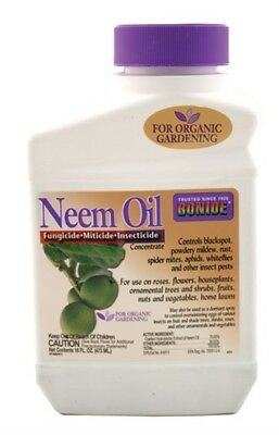 16oz. Neem Oil Fungicide, Miticide, Insecticide Concentrate