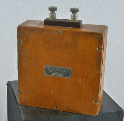 Vintage Leeds & Northrup Co 28513 Capacitor or Battery Lab Test Equipment #E