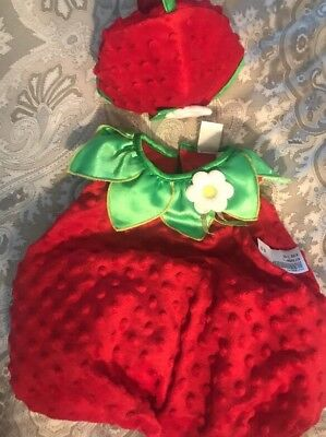 Strawberry Babies Costume 3-6 Months