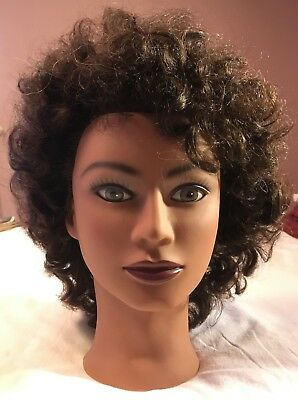 Mannequin Head Marianna Miss Michelle Afro Manikin Hairdresser NEW 65.00 RETAIL