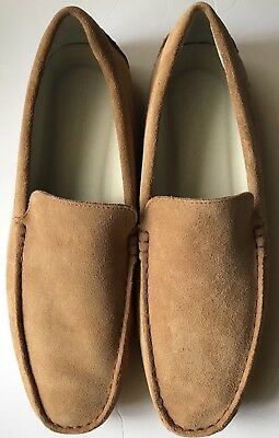 0716860c2 New Lacoste Piloter 316 Loafer Shoes Men s in Suede Light Tan Size 11.5