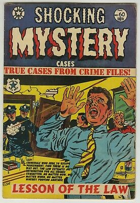 Shocking Mystery Cases #60 (1954) LB Cole C/A (FN+)