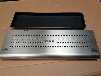 Becks Vier stainless steel drip tray and plastic liner pub/bar/mancave