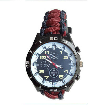 Paracord Watch with Household Cavalry (HHC) a Great Gift