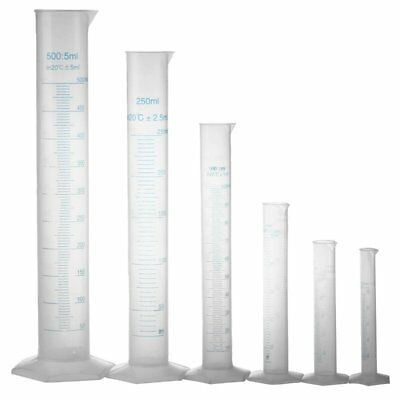 10 25 50 100 250 500ml graduated cylinder to measure students Laboratory DI D9B6