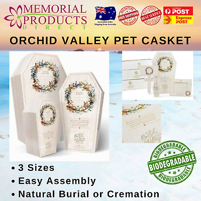 Pet Casket  -  Orchid Valley - 3 sizes