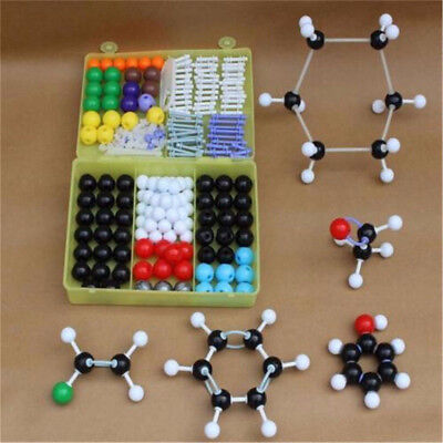 267pcs Molecular Model Set Links Kit - General And Organic Chemistry Science B