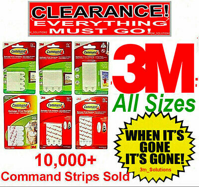 Command Strips 3M Adhesive Damage Free Picture Hanging Poster Frames Cheap