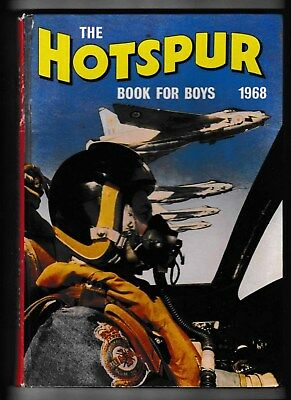 The Hotspur Book For Boys 1968 Good Condition Not Price Clipped
