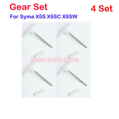 RC Quadcopter Drone Spare Parts Motor Gear Main Gears Set For Syma X5S X5SC X5SW