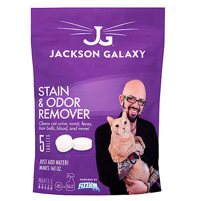 Jackson Galaxy Stain & Odor Remover, 5 CT Refill Tablets