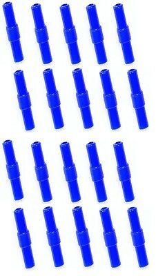 20x Air line Straight Connectors For Joining Aquarium Airline x20