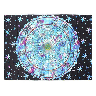 200X150 Tablecloth Towel Blanket pentacle Tarot game Rider Deck Board Astrology