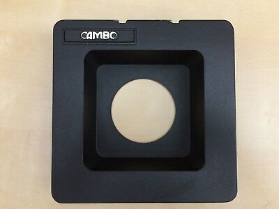 Cambo 4x5 #3 Recessed Lens Board Wide Angle Large Format Copal