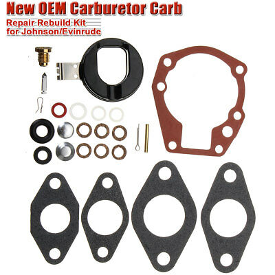 Auto Car Accessories Carburetor Rebuild Kit For Johnson Evinrude 439071 777721