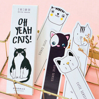 30pcs/box Retro Bookmarks Marker Stationery Gift Bookmarks Message Card Supply