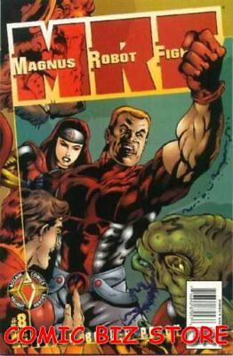 Magnus Robot Fighter #8 (1997) 1St Printing Bagged & Boarded Valiant
