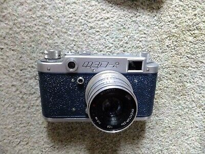 """Vintage """"Russian Leica"""" camera 3d-2 serial number 320379"""