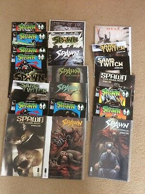 Spawn &sam And Twitch Comics Joblot Collection Bundle 22 Issues