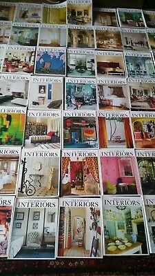 The world of interiors magazines over 80+