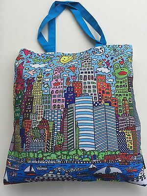"James RIZZI: Tasche, Einkaufstasche, Art Shopping Bag ""MY NEW YORK CITY"", neu"