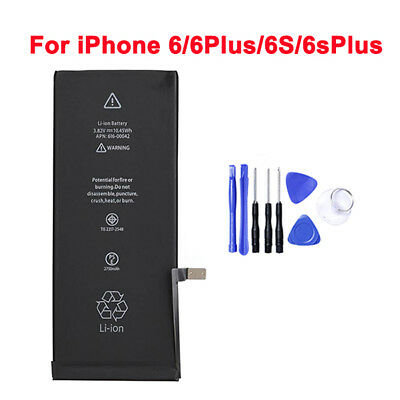OEM Original Genuine Internal Battery Replacement for Apple iPhone 6s+ w/ Tools