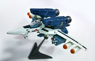 """BIG WEST 4"""" Macross VF-1S Fighter Valkyrie Candy Gashapon Hi Detail Bandai Toy"""