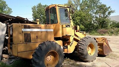 DRESSER 515B Wheel Loader 4WD Articulating Payloader
