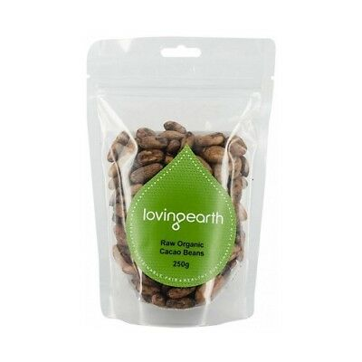 LOVING EARTH Raw Organic Cacao Beans